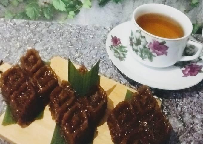 Resep Wajik gula merah