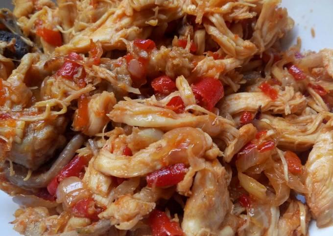 Resep: Ayam rebus sisit/suir