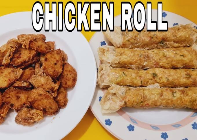 Resep: Ayam/chicken roll/gohyong/kuenek