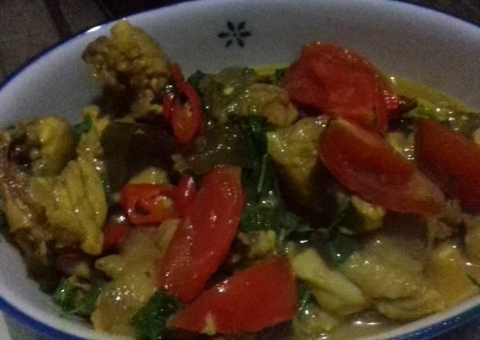 Resep: Ayam kemangi