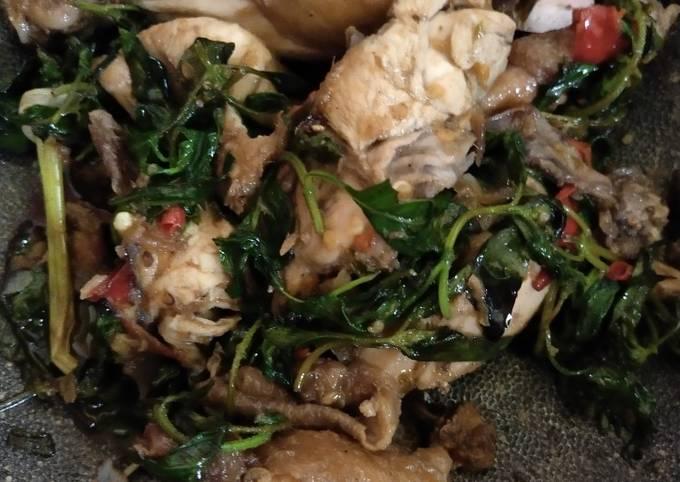 Resep Ayam pedas kemangi