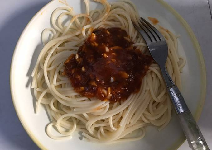 Resep Spaghetti saus balognese