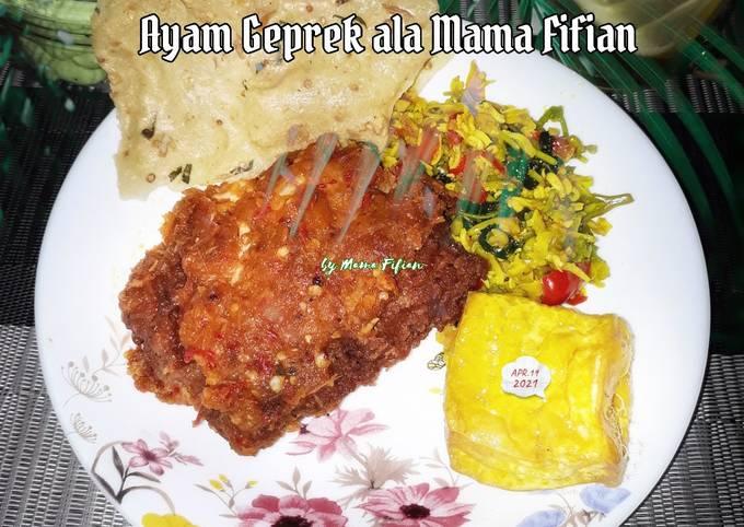Resep: Ayam Geprek ala Mama Fifian