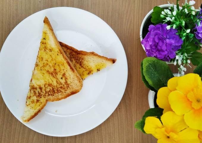 Resep Garlic bread praktis
