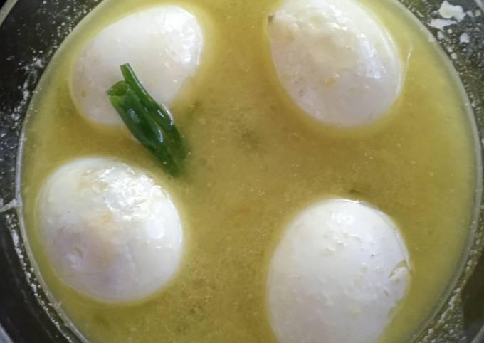 Resep: Opor telur