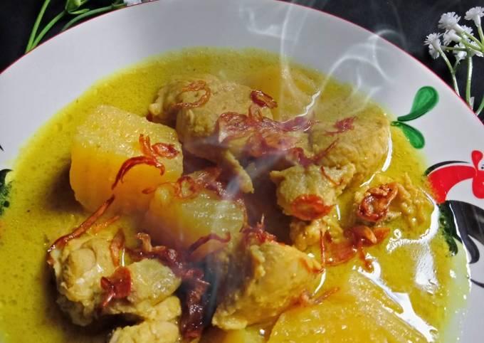 Resep: Opor ayam kentang