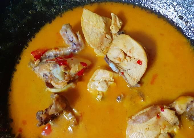 Resep: Opor Ayam simpel