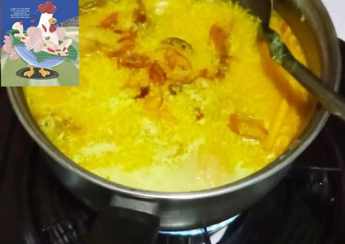 Resep: Opor ayam kuning
