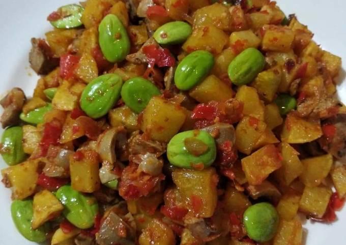 Resep: Sambal goreng kentang ampela