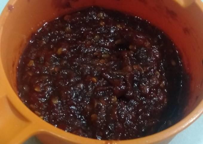Resep: Cara memasak sambal goreng tomat