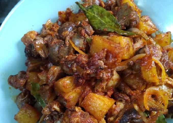 Resep: Sambal goreng kentang hati ampela