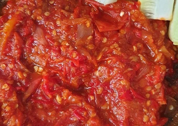 Resep: Sambel goreng tomat