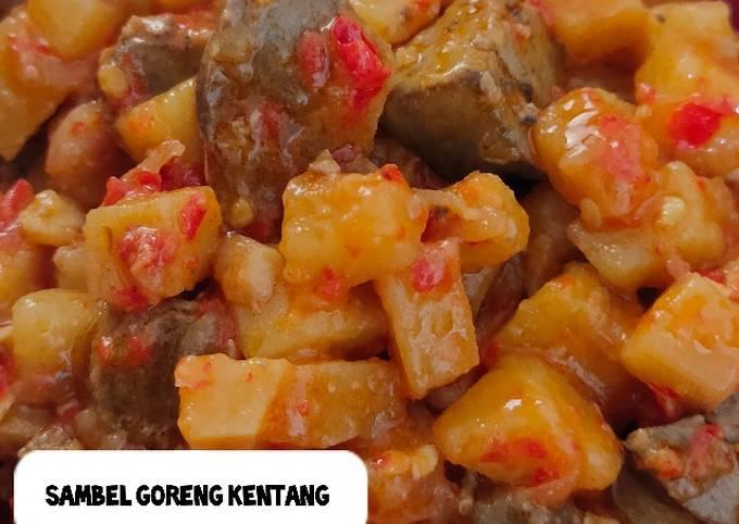 Resep Sambel goreng kentang (bumbu iris)