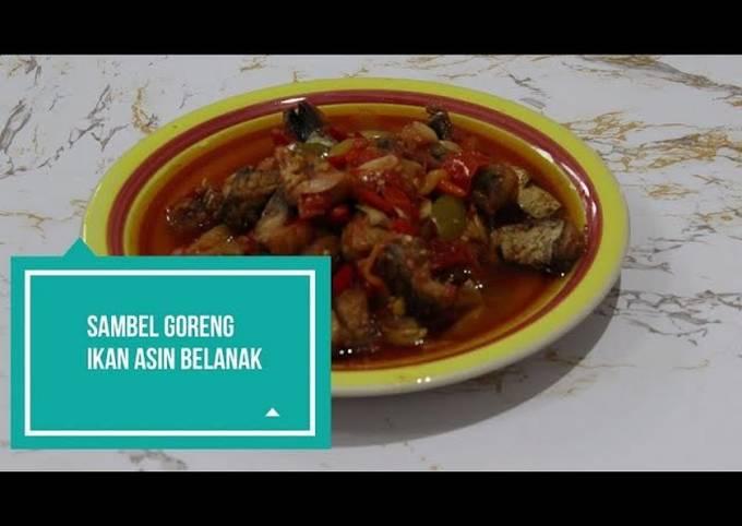 Resep: Sambel goreng ikan asin