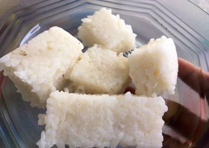 Resep: Kupat nasi matang tanpa kukus