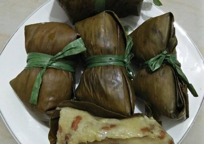Resep Kue lepet (gandengan ketupat)