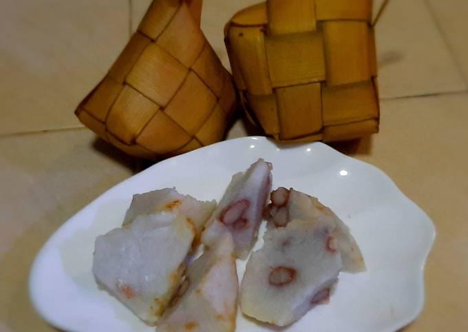 Resep Pulen nya ketupat lebaran presto isi kacang merah