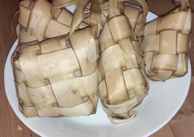 Resep Ketupat lebaran ala rice cooker