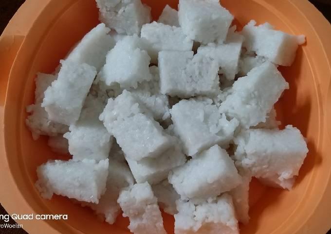 Resep: Ketupat ala2 ricecooker 🤪