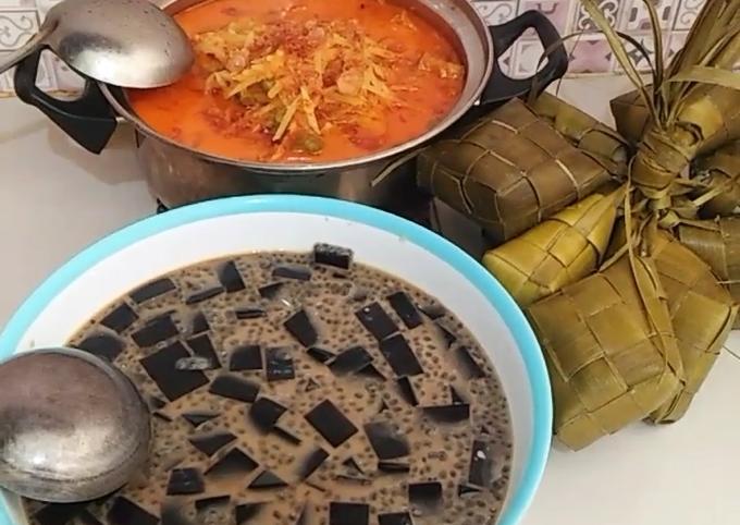 Resep Ketupat / Lontong sayur Labu siam