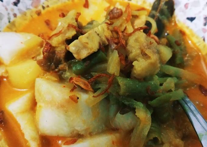 Resep: Ketupat sayur