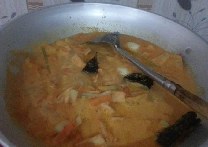 Resep Ketupat sayur manyosss bangett