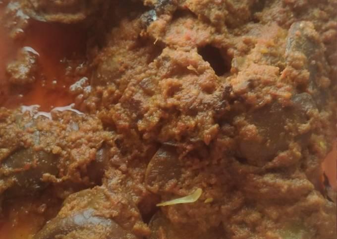 Resep: Rendang jengkol pedas gurih mantap