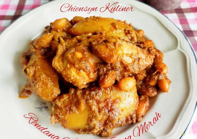 Resep: Rendang Ayam Kacang Merah