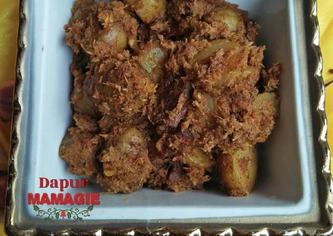 Resep: Rendang kentang