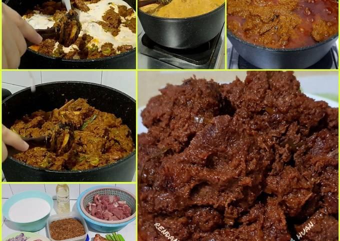 Resep Rendang daging sapi minang full bumbu