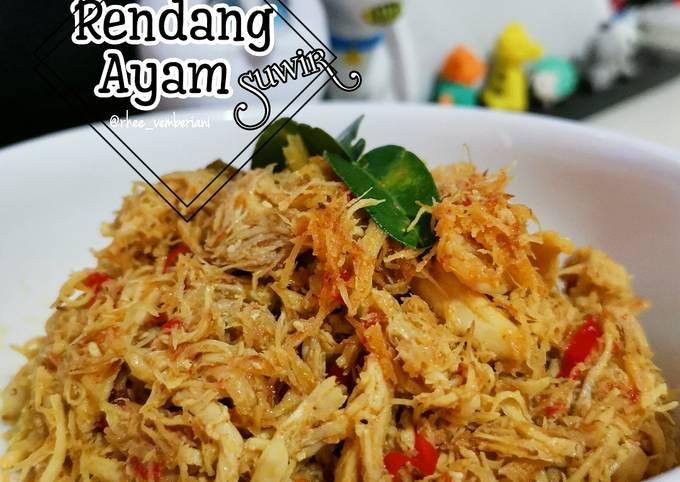 Resep: Rendang Ayam Suwir simple