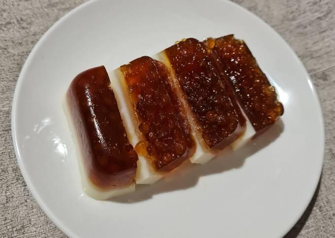 Resep: Pudding sagu mutiara gula merah