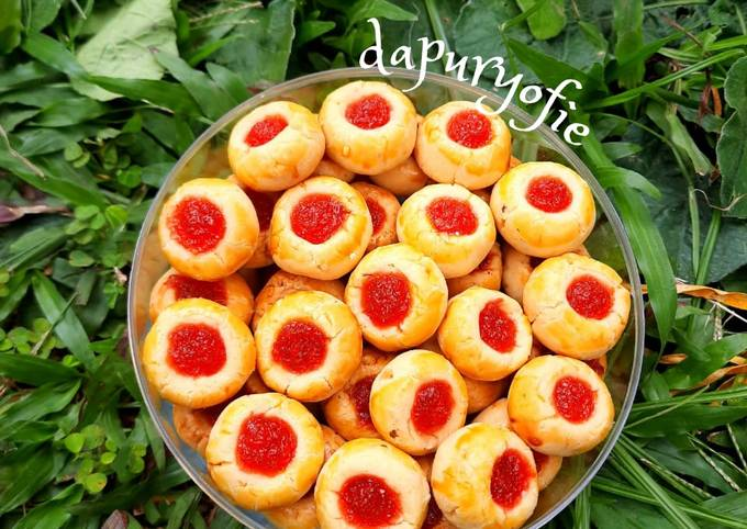 Resep Nastar strawberry
