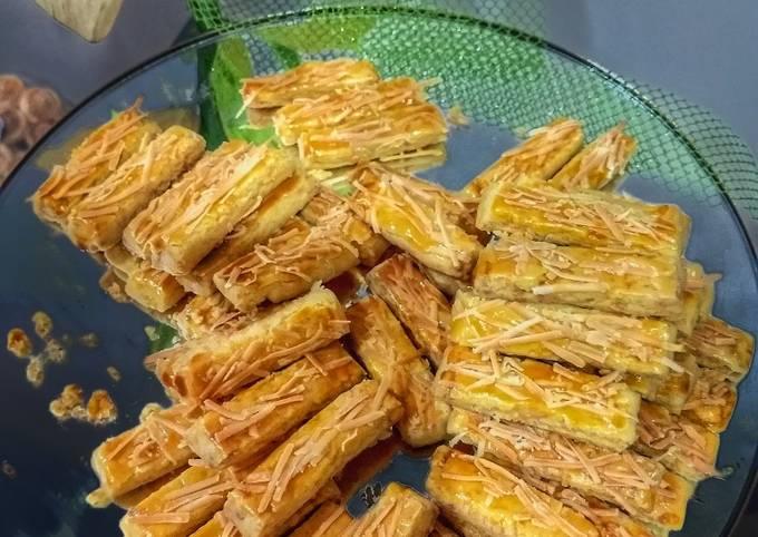 Resep: 28.2020.Tips Kaastengels Renyah (pakai permesan dan cheesy edam)