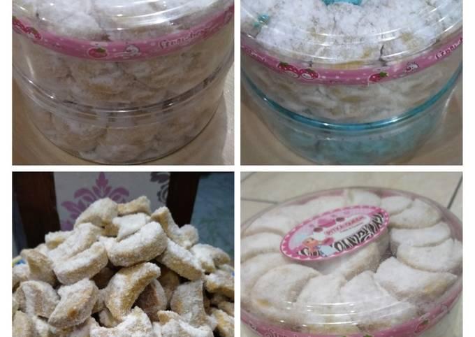 Resep: Putri salju kacang Mede keju