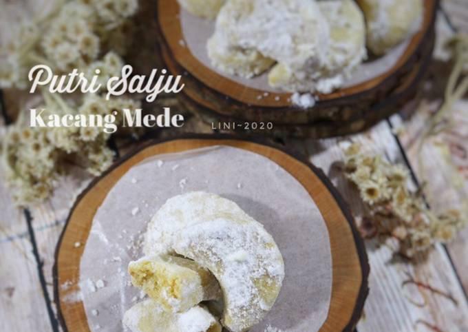 Resep: Putri salju kacang mede - kue kering