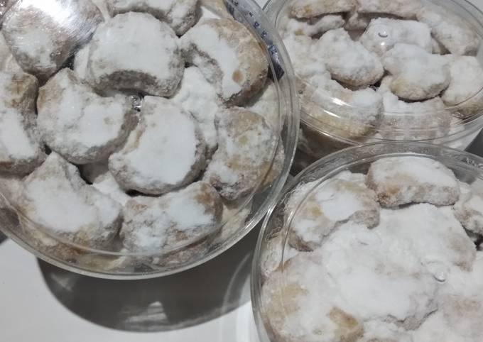 Resep Putri salju kacang tanah