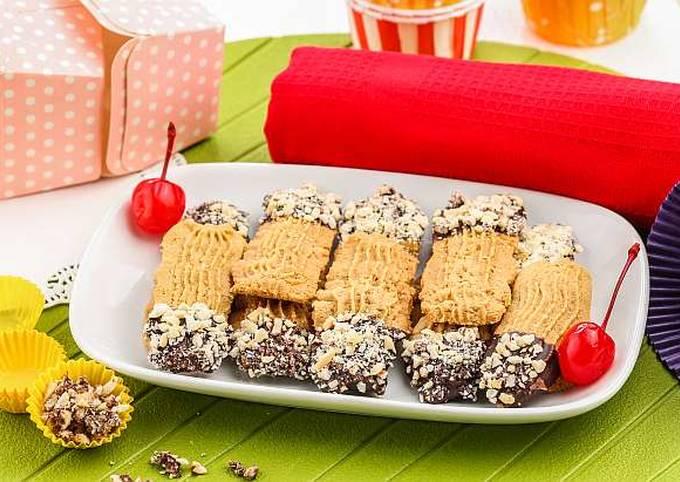 Resep: Resep Kue Semprit Moka Kacang