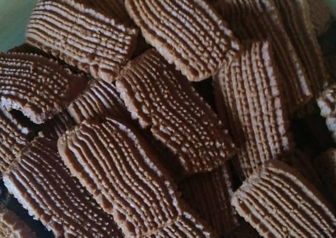 Resep: Semprit coklat jadul