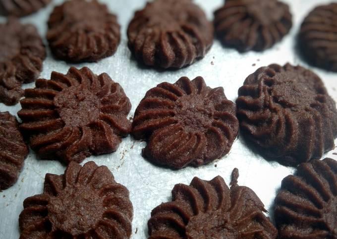 Resep: Semprit coklat ncc
