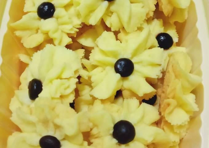 Resep: Kue Semprit Wajan (pake 3 bahan)