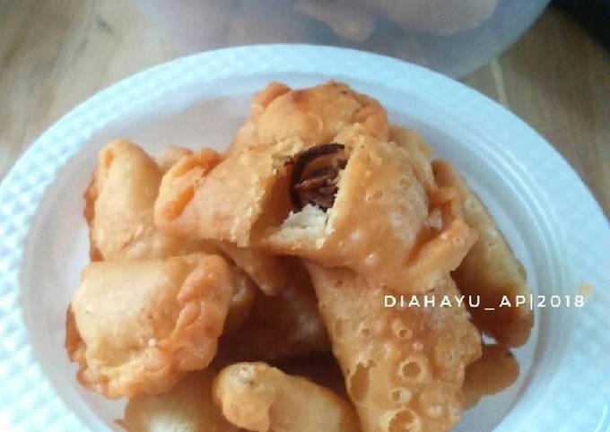 Resep Pastel kering bawang goreng