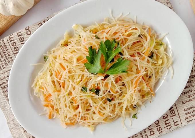 Resep Oseng bihun sayur (bisa untuk isian pastel)