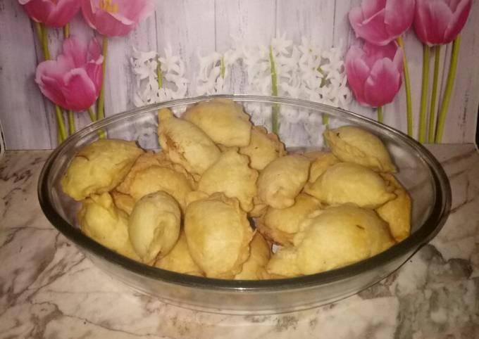 Resep Pastel abon mini