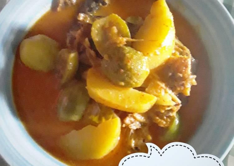 Resep: Ikan Sale Bumbu Kuning ala resto