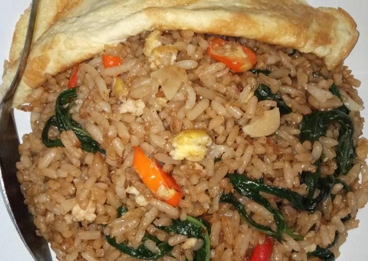 Resep: Nasi goreng kangkung ala resto istimewa