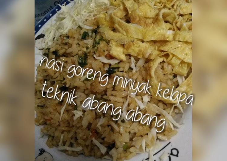 7.Nasi Goreng Minyak Kelapa Teknik Abang Abang