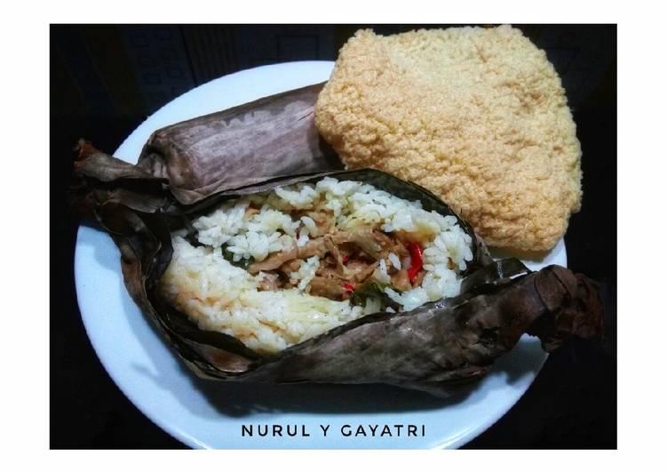 Resep: Nasi bakar Jamur Tuna yang bikin ketagihan