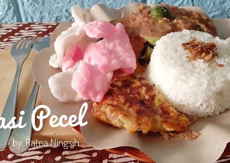 Cara Mudah memasak Nasi Pecel yang menggugah selera