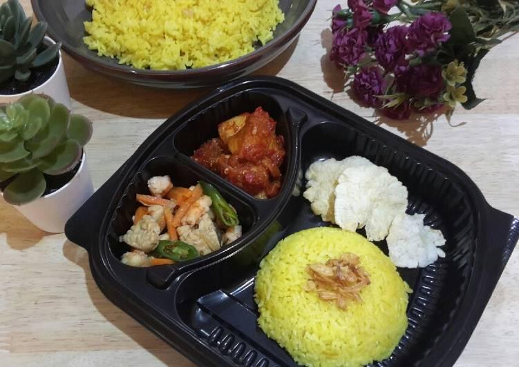 Nasi Kuning Berempah